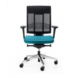 CHAIR XENON NET 101 SL black P 58 PU